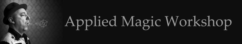 Applied Magic Workshop Banner